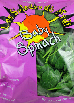 Trader Joe's Baby Spinach