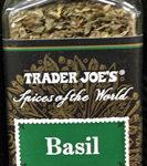 Trader Joe's Ground Basil