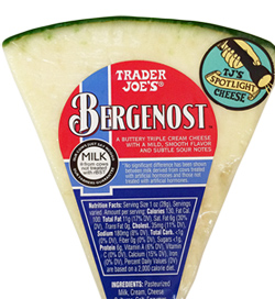 Trader Joe's Bergenost Cheese