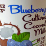 Trader Joe's Blueberry Cultured Coconut Milk Yogurt