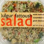 Trader Joe's Bulgur Fattoush Salad