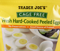 Trader Joe's Cage Free Fresh Hard Cooked Peeled Eggs