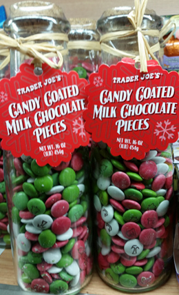 Trader Joe's Candy Coated Milk Chocolate Pieces
