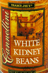 Trader Joe's Cannellini White Kidney Beans