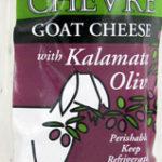 Trader Joe's Chevre Goat Cheese with Kalamata Olives