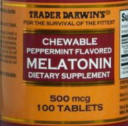 Trader Joe's Chewable Peppermint Melatonin