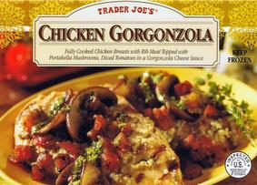 Trader Joe's Chicken Gorgonzola