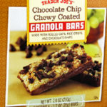 Trader Joe's Chocolate Chip Chewy Coated Granola Bars