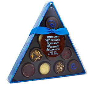 Trader Joe's Chocolate Dessert Pyramid Collection