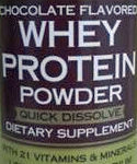 Trader Joe's Chocolate Flavored Whey Protein Powder
