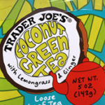 Trader Joe's Loose Leaf Coconut Green Tea