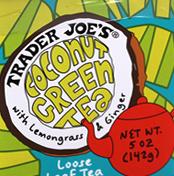 Trader Joe's Loose Leaf Coconut Green Tea