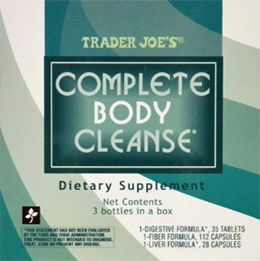 Trader Joe's Complete Body Cleanse Dietary Supplement