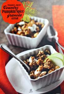 Trader Joe's Country Pumpkin Spice Granola Cereal