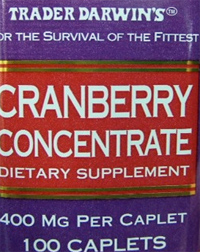 Trader Joe's Cranberry Concentrate Supplement