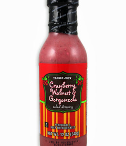 Trader Joe's Cranberry, Walnut, & Gorgonzola Dressing