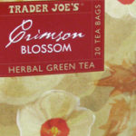 Trader Joe's Crimson Blossom Herbal Green Tea