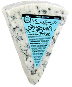 Trader Joe's Crumbly Gorgonzola Cheese