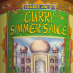 Trader Joe's Curry Simmer Sauce