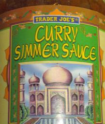 Trader Joe's Curry Simmer Sauce