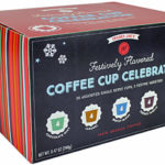Trader Joe's Festively Flavored Single Serve Coffee Cups Celebration
