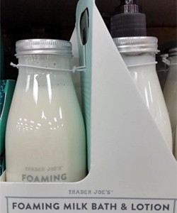 Trader Joe's Foaming Milk Bath & Lotion