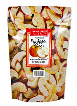 Trader Joe's Freeze Dried Fuji Apple Slices