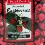 Trader Joe's Freeze Dried Raspberries