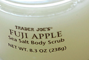 Trader Joe's Fuji Apple Sea Salt Body Scrub