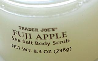 Trader Joe's Fuji Apple Sea Salt Body Scrub