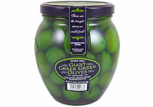 Trader Joe's Giant Greek Green Olives