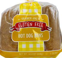 Trader Joe's Gluten-Free Hot Dog Buns