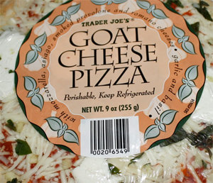 Trader Joe's Goat Cheese Pizza