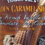 Trader Joe's Golden Caramel Swirl Ice Cream