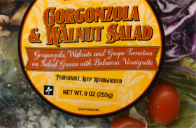 Trader Joe's Gorgonzola & Walnuts Salad