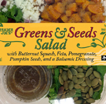 Trader Joe's Greens & Seeds Salad