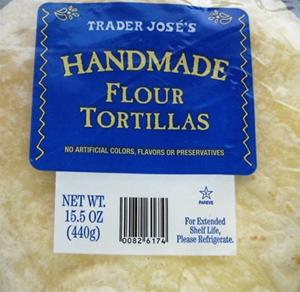 Trader Joe's Handmade Flour Tortillas