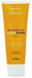 Trader Joe's Honey Mango Moisturizing Shave Cream
