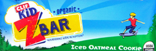 Clif Kid Organic Iced Oatmeal Cookie Z Bar
