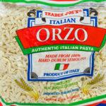 Trader Joe's Italian Orzo Pasta