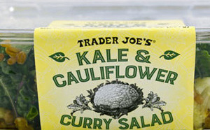 Trader Joe's Kale & Cauliflower Curry Salad