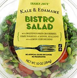 Trader Joe's Kale & Edamame Bistro Salad