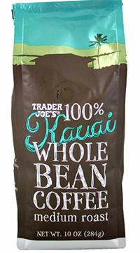 Trader Joe's Kauai Whole Bean Coffee