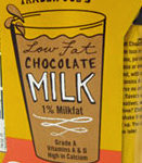 Trader Joe's Chocolate Milk