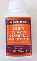 Trader Joe's Multivitamin & Mineral Antioxidant