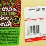 Trader Joe's New Zealand Grass Fed Sharp Cheddar