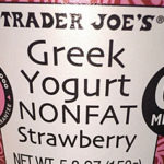 Trader Joe's Nonfat Strawberry Greek Yogurt