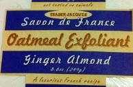 Trader Joe's Oatmeal Exfoliant with Ginger & Almond