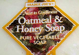Trader Joe's Oatmeal & Honey Soap