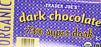 Trader Joe's 73% Super Dark Chocolate Bar